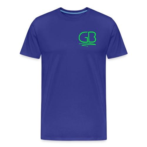 Green GB logo - Men's Premium T-Shirt