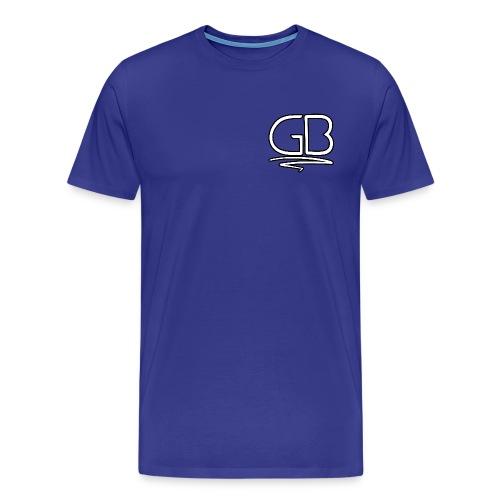 GB Logo design - Men's Premium T-Shirt
