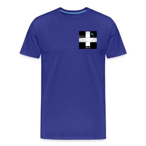 logo for vlogs - Men's Premium T-Shirt