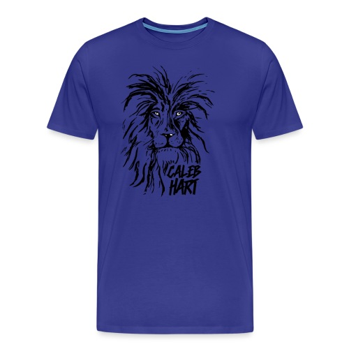 Caleb Hart - Lion - Men's Premium T-Shirt