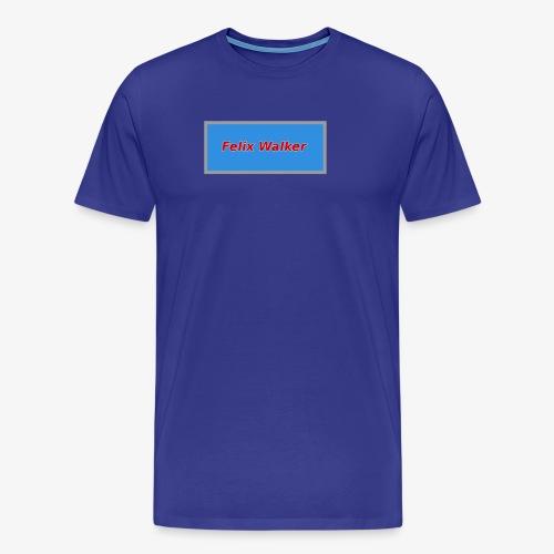 Felix Walker square logo - Men's Premium T-Shirt