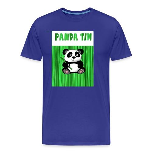 Panda Tim - Men's Premium T-Shirt