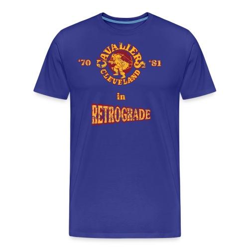 Warriors sending the Cavs back in time . '70/'81 - Men's Premium T-Shirt