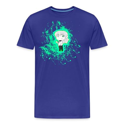 Chibi Nullify Paint Splatter - Men's Premium T-Shirt