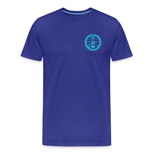 AB KEPP IT LIT 50 SUBS MERCH - Men's Premium T-Shirt