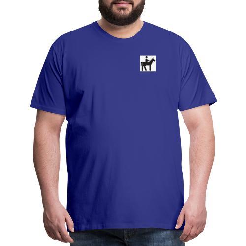 figure riding - Men's Premium T-Shirt
