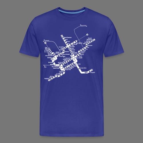 METRO Map - Men's Premium T-Shirt