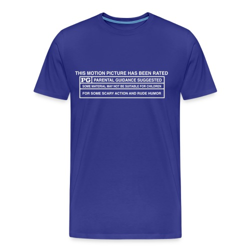 mpaa shirt outlines - Men's Premium T-Shirt