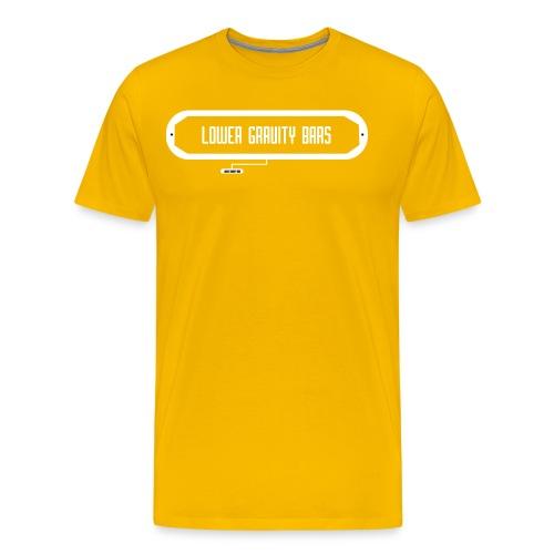 Lower Gravity Bars - Men's Premium T-Shirt