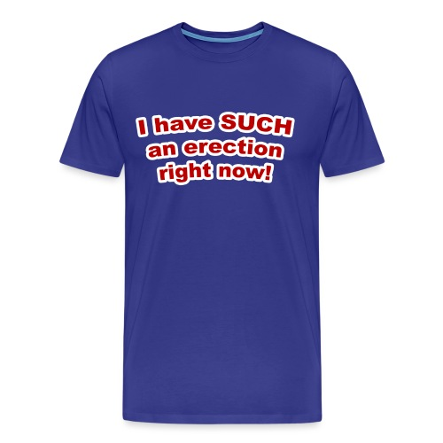 I Have Such an Erection - Men's Premium T-Shirt