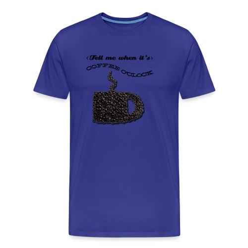 Coffee O'Clock - Men's Premium T-Shirt