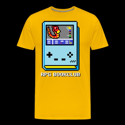 RPG Bookclub Logo - Men's Premium T-Shirt