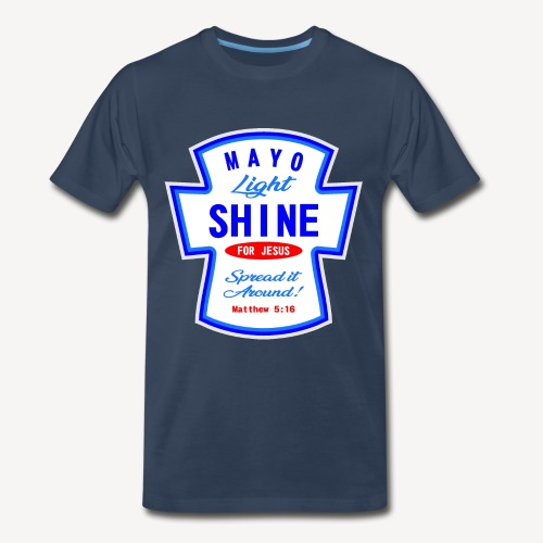 607247 169979753 MAYO LIGHT SHINE - Men's Premium T-Shirt