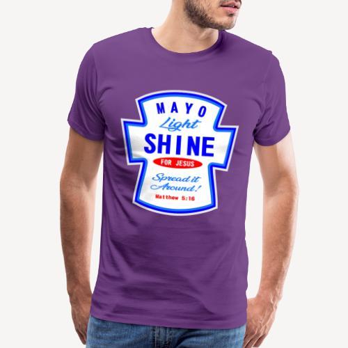 607247 169979753 MAYO LIGHT SHINE - Men's Premium T-Shirt