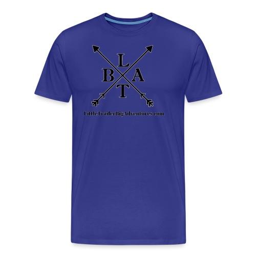 Black LTBA Logo - Men's Premium T-Shirt
