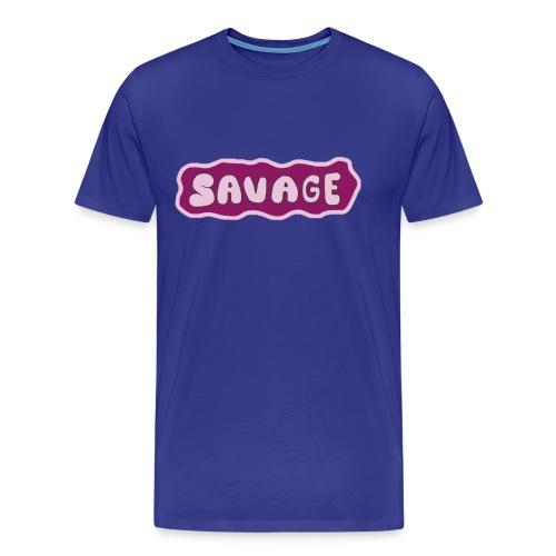 Savage - Men's Premium T-Shirt