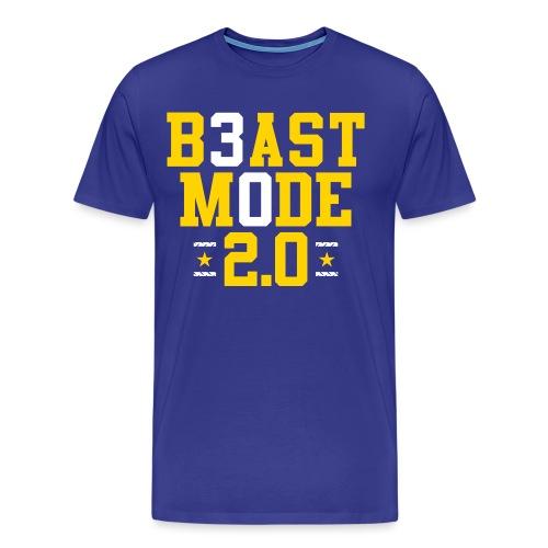 B3ast M0de 2.0 - Men's Premium T-Shirt