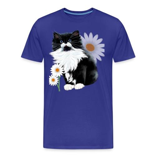 Little Tux Kitten-Daisy - Men's Premium T-Shirt