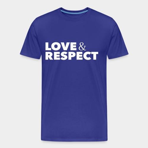 Love & Respect - Men's Premium T-Shirt
