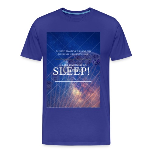 Sleep Galaxy by @lovesaccessories - Men's Premium T-Shirt
