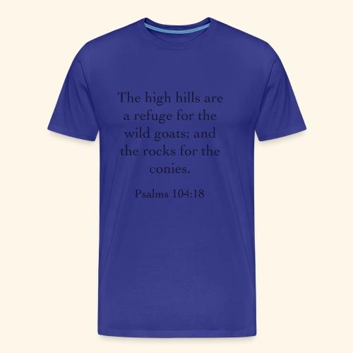 High Hills KJV - Men's Premium T-Shirt