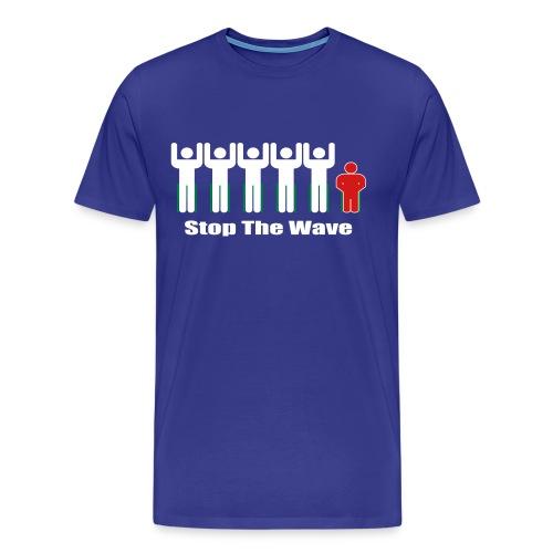 Men's Stop The Wave Logo T-Shirt - Men's Premium T-Shirt