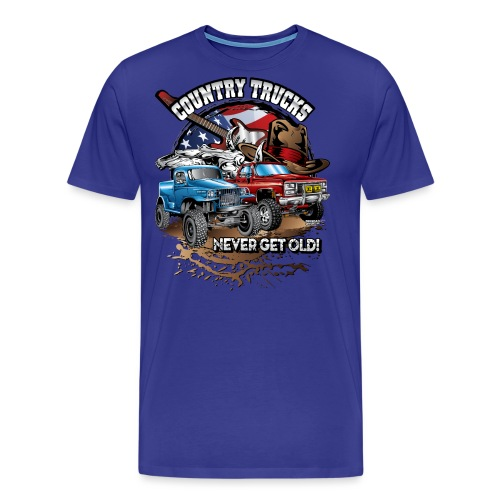 Country Off-Road Trucks - Men's Premium T-Shirt