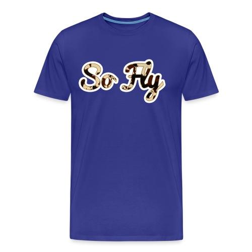 So Fly Classic Cow - Men's Premium T-Shirt