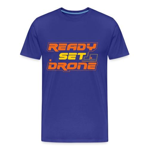 Ready Set Drone - Men's Premium T-Shirt