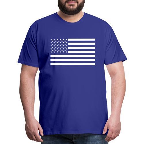 USA American Flag - Men's Premium T-Shirt