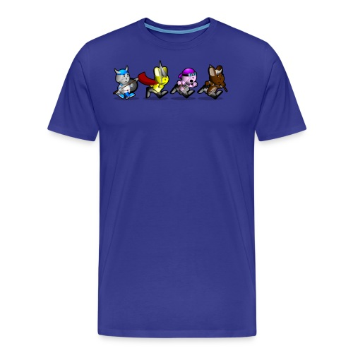 Running Bunnies - Men's Premium T-Shirt