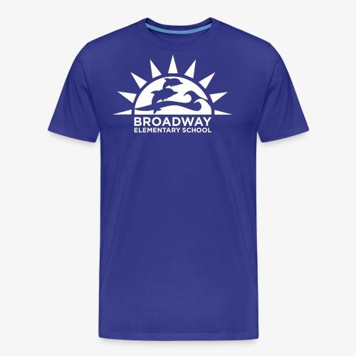 Broadway Elementary Logo - Men's Premium T-Shirt