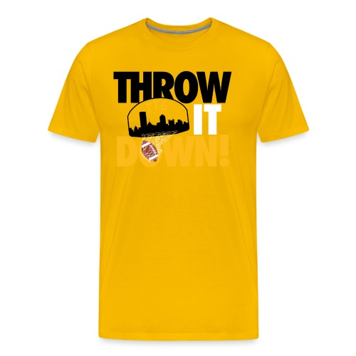 Throw it Down! (Turnover Dunk) - Men's Premium T-Shirt