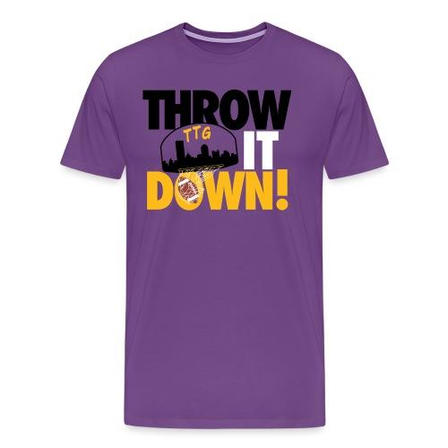 Throw it Down! (Turnover Dunk) - Men's Premium T-Shirt