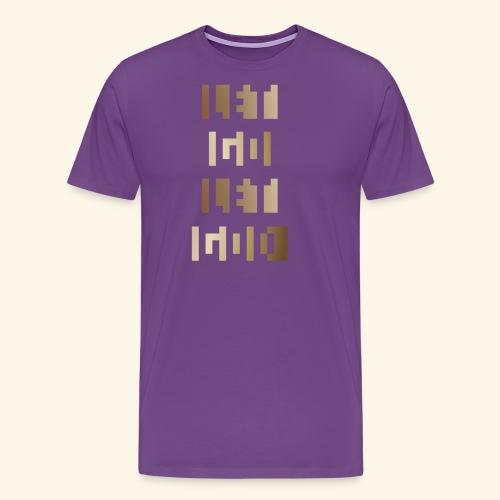 LET GO LET GOD LGLG #3 - Men's Premium T-Shirt