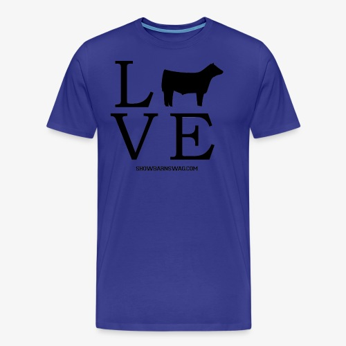 Love Beef Black - Men's Premium T-Shirt