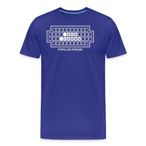 wheel of fortune - Men's Premium T-Shirt