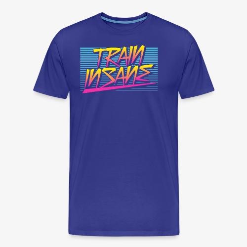 Train Insane Retro - Men's Premium T-Shirt