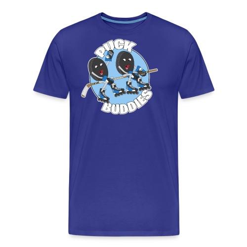 Puck Buddies Logo - Men's Premium T-Shirt