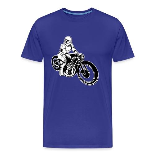 Stormtrooper Motorcycle - Men's Premium T-Shirt