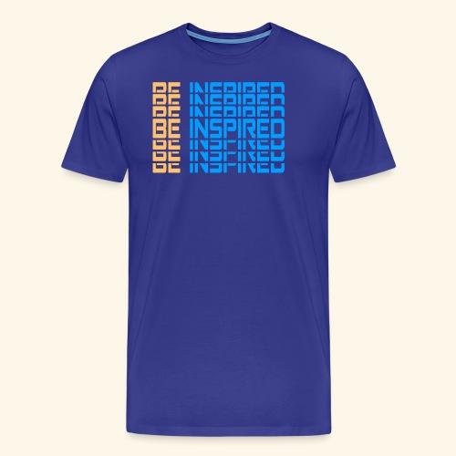 BE INSPIRED #4 - Men's Premium T-Shirt