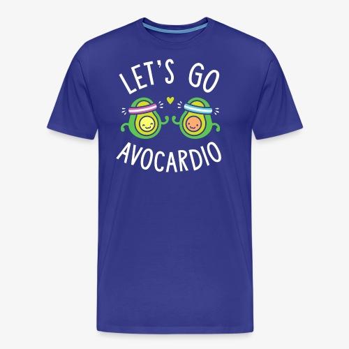 Let's Go Avocardio | Cute Avocado Pun - Men's Premium T-Shirt