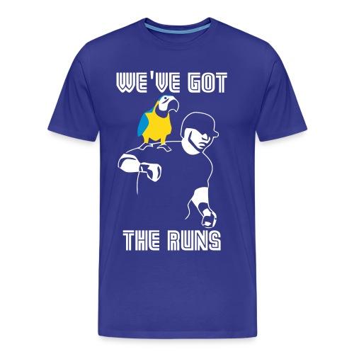 We ve Got The Run Vector - Men's Premium T-Shirt