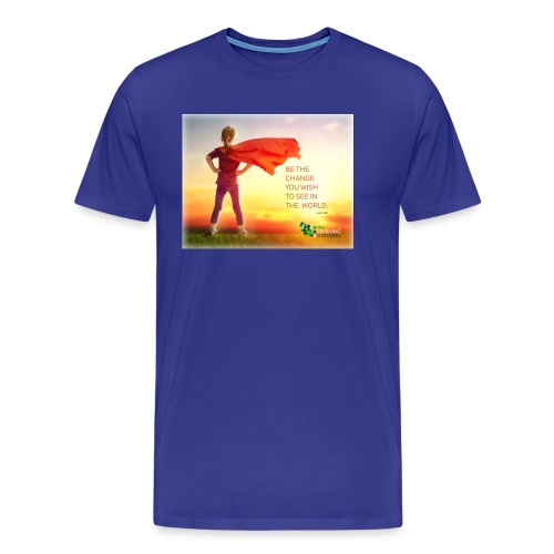 Education Superhero - Men's Premium T-Shirt