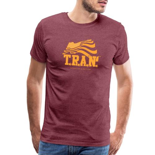 TRAN Gold Club - Men's Premium T-Shirt