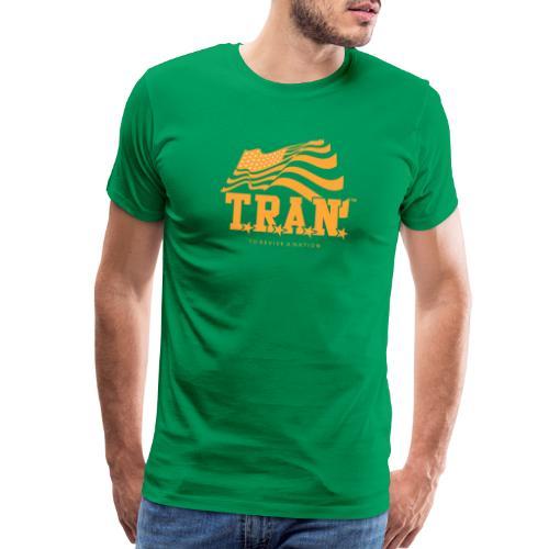 TRAN Gold Club - Men's Premium T-Shirt