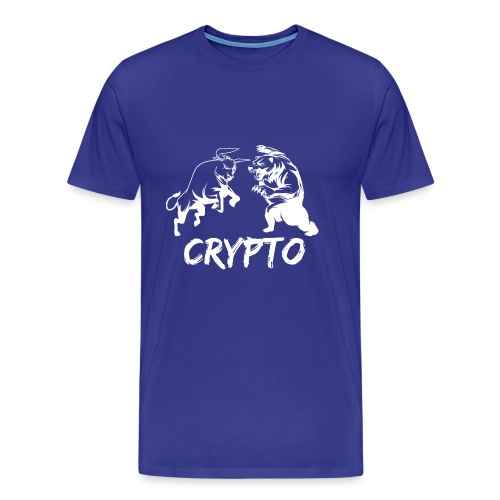 CryptoBattle White - Men's Premium T-Shirt