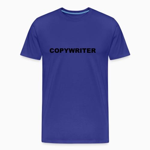 COPYWRITER black text - Men's Premium T-Shirt