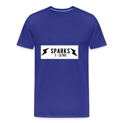 With boga/ SPARKS/ Tletric merch - Men's Premium T-Shirt
