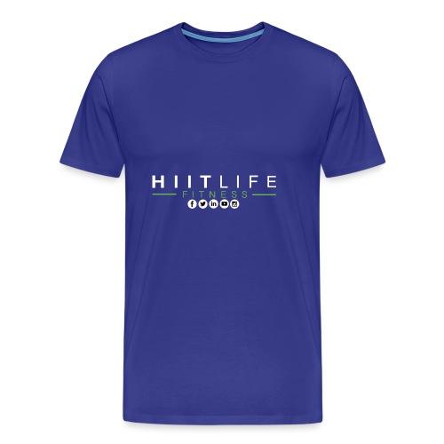 hlfsocialwht - Men's Premium T-Shirt